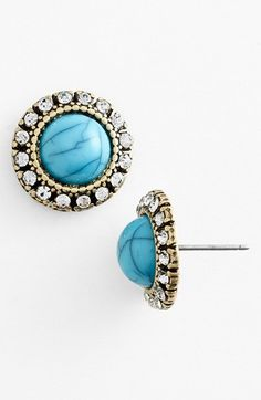 stone stud earrings / nordstrom