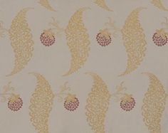 Rosslyn (BP 1925) - Farrow & Ball Wallpapers - Rosslyn is a charming reproduction of a 19th century English cotton print. With a delicate floral motif. Showing in metallic gold a on taupe brown background - more colours are available. Please request a sample for true colour match.