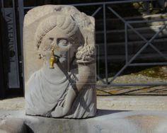 Drinking water on tap in Pompeii by blownmagic.deviantart.com on @deviantART