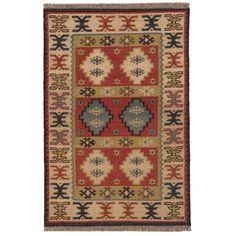 Mandore Wool Kilim Rug