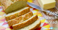 Paleo White Sandwich Bread Recipe:  Ingredients:  6 pastured eggs (try to get soy free) 1/4 tsp stevia powder extract or 2 tbsp honey 1/4 cu...