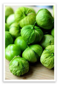 Tomatillos for Salsa Verde  #recipe #vegetarian