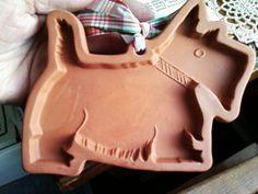 NEW Scottie Dog Shortbread Terra Cotta Cookie by JojosVintageFL, $39.95
