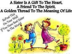 My dedication to my sister on her birthday, by putting together some photo clips and added her own daughters song I WONT LET GO ~ by Venita Engelbrecht Love Your Sister, Best Sister, Daughter Songs, Brother And Sister Relationship, Love You So Much, My Love, Special Words, Meaning Of Life, Family Love