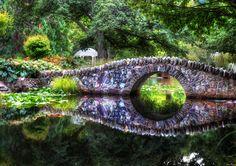 The Tolkienesque Bridge ~ Queenstown, New Zealand