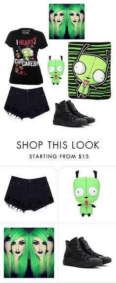 """""""Untitled #402"""" by creepypastalover-15 ❤ liked on Polyvore featuring Disney and Converse"""