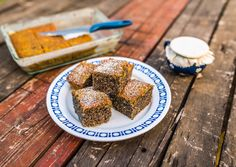 Bögrés mákos sütemény recept foto Healthy Sweets, Gourmet Recipes, Sugar Free, Great Recipes, French Toast, Cereal, Goodies, Food And Drink, Cooking