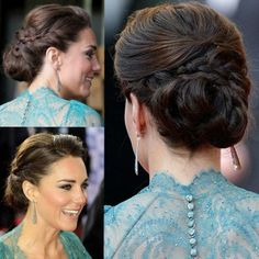 Who better to take inspiration from for a classic elegant updo than the Duchess of Cambridge?!