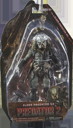 "NECA 9/"" Savage Serpent-Alien Xenomorph AVP Predator Action Figure"