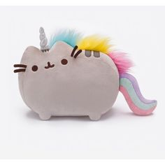 Pusheenicorn plush toy (400 ARS) ❤ liked on Polyvore featuring baby, filler, home, plushie and toys
