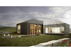 Fertighaus modern walmdach  Independent 158 - #Einfamilienhaus von STIMMO Hausbau GmbH ...