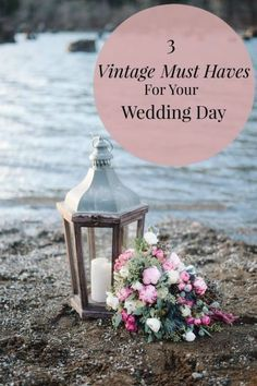 If you are in love with vintage everything, you may want your wedding day to reflect that personal style. Find a vintage trunk to use as a table, a piece of décor or even as a place to hold your gifts. You can use it at home after the wedding is over! For another great touch, add vintage lounge furniture, scattered around the venue; it'll look great in your professional photos. Use gorgeous vintage plates for your place settings. Check eBay's guide to vintage pieces for your wedding day.