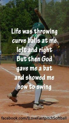 Baseball is a game of inches and beautiful when played right. Baseball is loved by many all over. Watching a baseball game in the summer is one of the most Spiritual Quotes, Positive Quotes, Motivational Quotes, Inspirational Quotes, Religious Quotes, Faith Quotes, Bible Quotes, Game Quotes, Wisdom Quotes