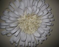 Large Paper Flower - Already made - 16 inches - extra large flower - Giant flower