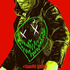 'Suicide Squad' Killer Croc Poster