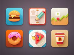 Icon set by Mike | Creative Mints #icons #flat #dribbble #inspiration