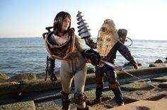 Bioshock couples cosplay