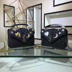 Yves Saint Laurent 392748 (98usd) Size:22*17*7cm Yves Saint Laurent Bags, Suitcase, Breakfast Ideas, Morning Tea Ideas, Suitcases