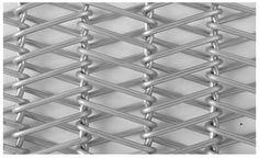 A double balanced weave conveyor belts