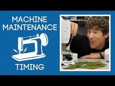 Man Sewing - sewing machine maintenance