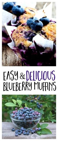 Easy & Delicious Blueberry Muffins | eBay
