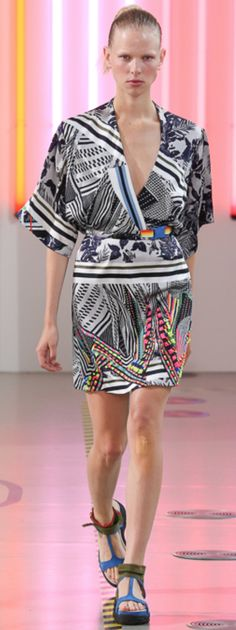 Spring 2015 Ready-to-Wear Preen by Thornton Bregazzi