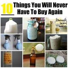 10 Things You Will Never Have To Buy Again