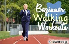 Great selection of beginner #walking workouts to try! | via @SparkPeople #walk #fitness #exercise #workout
