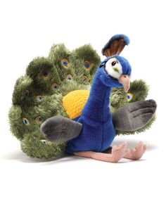 Look what I found on #zulily! Ferguson Peacock Plush Toy #zulilyfinds