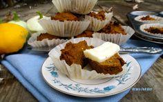 Egg Free Chia Pumpkin Molasses Muffins (gluten free, Paleo, dairy free, grain free)