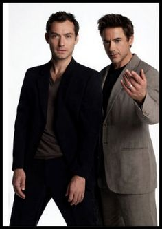 Holmes & Watson!
