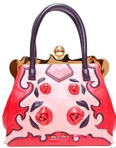 MiuMiu pink handbag