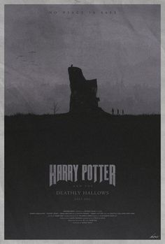 #7 - Harry Potter and the Deathly Hallows - Part l -- The Harry Potter Poster Collection - Created by Edward J. Moran II
