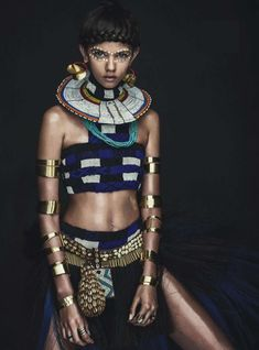 Fashion with an Egyptian flare