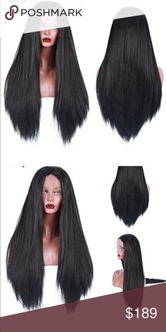 Yaki Lacefront Wig 22-24 inches!! • High quality: Free part natural hair line, thick and full, no harm for health, no hurt for skin • Feature: 250% Density, More Color More Texture and Size Choice. Long-lasting Hairstyle, Reuseable Washable Stylish Elegant and Beauty. • Material :10% Human Hair+90% Synthetic High-temperature Resistance Fiber, Soft Tough Natural Looking ,Silky and Smooth Like Human Hair. Accessories Hair Accessories