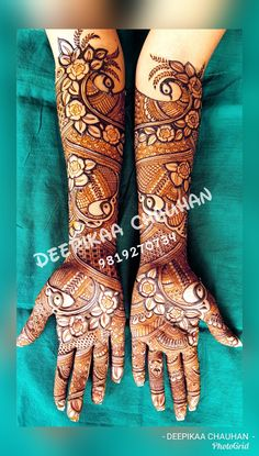 Best 12 this is most beautiful henna pattern for bride – SkillOfKing. Peacock Mehndi Designs, Full Mehndi Designs, Latest Bridal Mehndi Designs, Indian Mehndi Designs, Legs Mehndi Design, Mehndi Design Pictures, Wedding Mehndi Designs, Beautiful Mehndi Design, Mehndi Designs For Hands