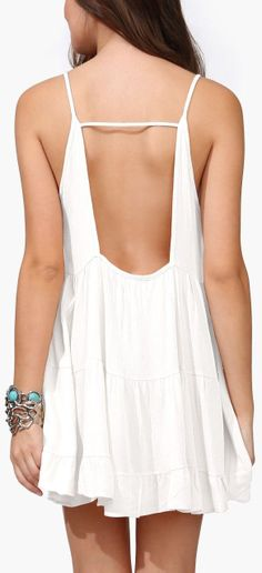 Backless Summer Dress //