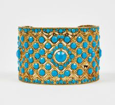 Samantha Wills Gold and turquoise Bracelet