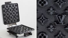 Máquina de waffles da Louis Vuitton?