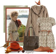 """""""A Touch of Robin Red"""" by leegal57 ❤ liked on Polyvore"""