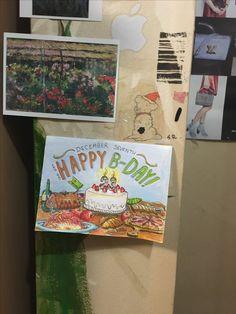 언니 생일카드