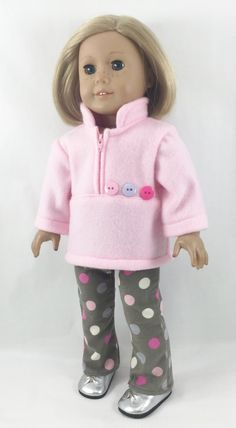Fits American Girl The Brooke Set Sewing Doll Clothes, American Doll Clothes, Girl Doll Clothes, Doll Clothes Patterns, Barbie Clothes, Girl Dolls, Ag Dolls, Doll Patterns, Dress Patterns