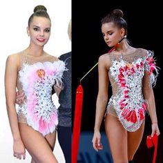 Gymnastics Competition Leotards, Rhythmic Gymnastics Leotards, Dina Averina, Dancing Figures, Gymnastics Photos, Boy Costumes, Dance Outfits, Sexy Body, Dance Wear