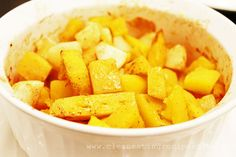 Clean Eating Idea: Baked Cinnamon Apple Squash #cleaneating #healthyrecipe