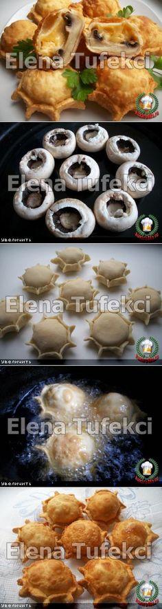 Пирожки «Грибные бомбочки». | Вкусняшка | Постила