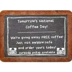Our coffee is Valerio - local organic and fair trade! YUM!! #Mewow #Meow #catcafe #catsandcoffee #coffee #FreeCoffee #nationalcoffeeday #adoptacat #catadoption #rescuecat #adoptdontshop #coffeeday #coffeetime #coffeelover #catlover #coffeeaddict #coffeeholic #instacoffee #coffeedaily #coffeeshop #doylestown #coffeelove #catlove Coffee Love, Coffee Shop, Instagram News, National Coffee Day, Cat Cafe, Fair Trade, Organic, Coffee Shops, Loft Cafe