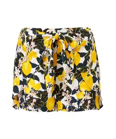 LEMON CO-ORD SHORT
