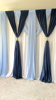 Create this beautiful backdrop today! I can't wait to use this at one of my Curtain Backdrop Wedding, Wedding Backdrop Design, Desi Wedding Decor, Pipe And Drape Backdrop, Decoration Evenementielle, Backdrop Decorations, Diy Wedding Decorations, Birthday Decorations, Backdrop Ideas