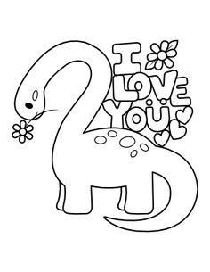 Printable Brontosaurus