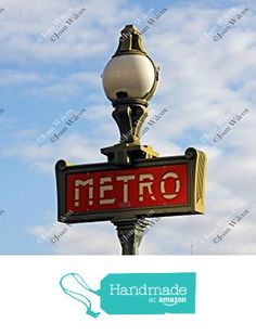 Daytime Paris France Metro Subway Train Transportation Sign Original Fine Art Photography Wall Art Photo Print from JWPhotography Gallery http://www.amazon.com/dp/B016X256Q6/ref=hnd_sw_r_pi_dp_.zwmwb06G5DRT #handmadeatamazon